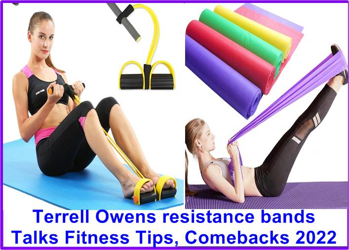 Terrell Owens resistance bands