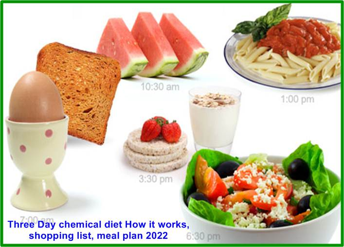Three Day chemical diet