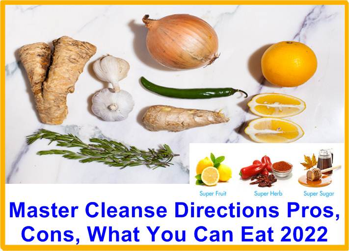 Master Cleanse Directions